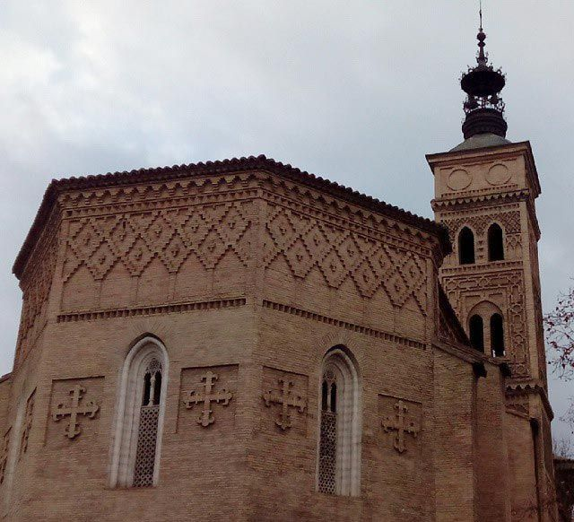 La campana de los perdidos se ubicaba en la iglesia de San Miguel de los Navarros y su sonido guiaba a los labradores perdidos. #zaragoza