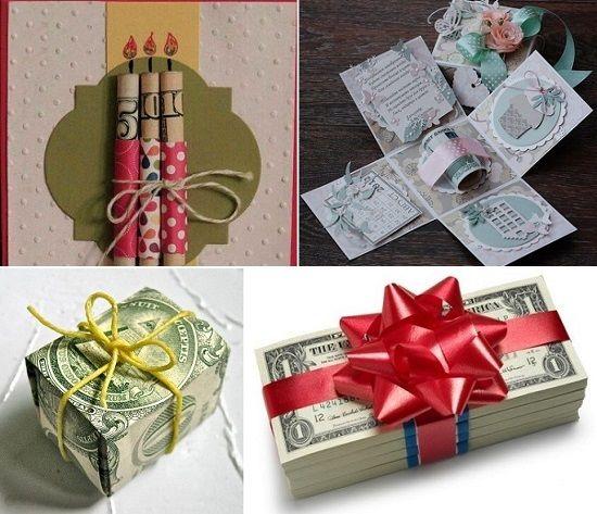 6910ce5dcd4d как оригинально подарить деньги | подарки | Деньги, Подарки и Дети