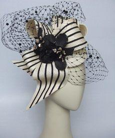 Fashion hat Light Finger, designed by Melbourne milliner Louise Macdonald