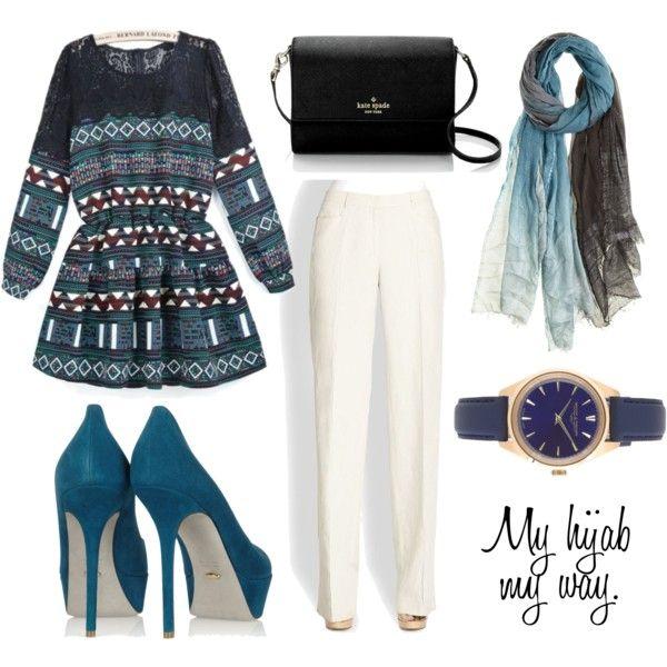 """Muslimah fashion 8"" by lai-la on Polyvore"