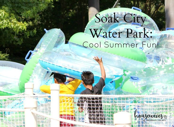 Soak City Water Park: Cool Summer Fun! Get your soak-on at Soak City Water Park, located at Kings Dominion. One price, two attractions! Family fun at its finest. #ad #KDFirstTimer