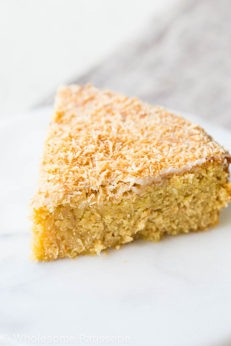 A beautiful and simple butter cake with toasted coconut and lemon icing. The most perfect snacking cake for everyone to enjoy!
