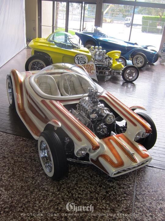 ➳➳➳☮American Hippie - Hot Rod .. Ed Roth  original cars