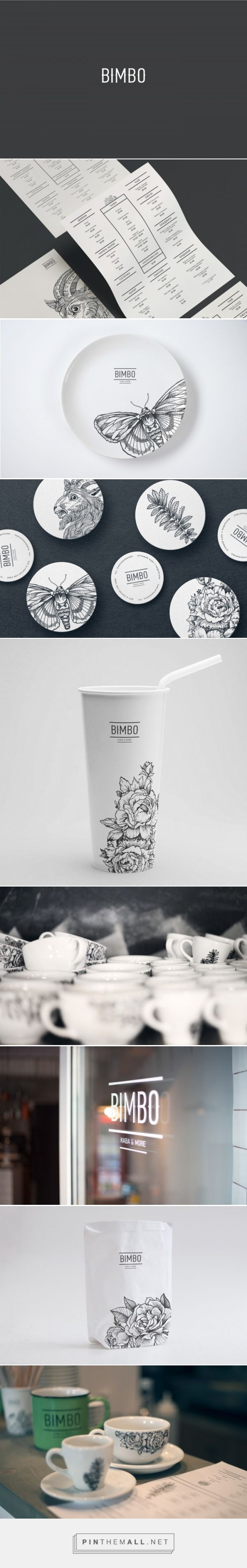 Bimbo Coffee Bar Branding by Grits + Grids