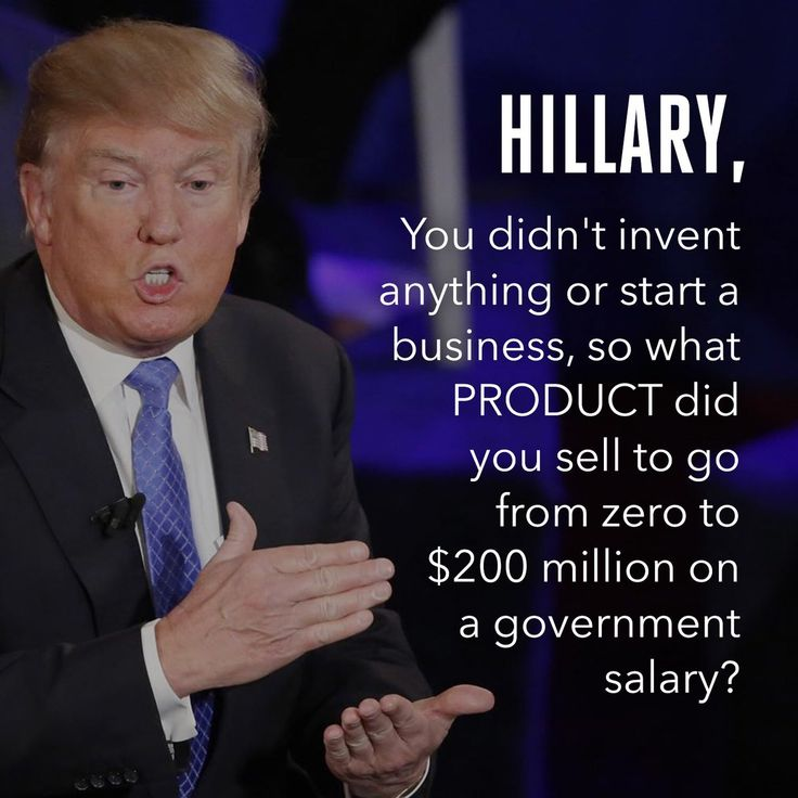 """Hillary Clinton has made her personal fortune from being a """"public servant"""" for the past 30 years...something is not right."""