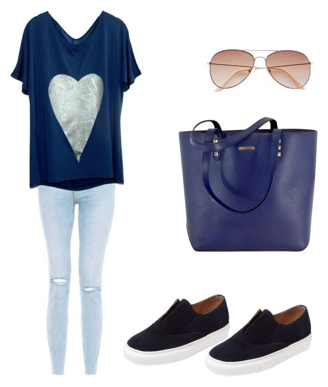Untitled #226 by filomenamaria on Polyvore featuring polyvore fashion style SLC-SLC Firth Rebecca Minkoff H&M clothing