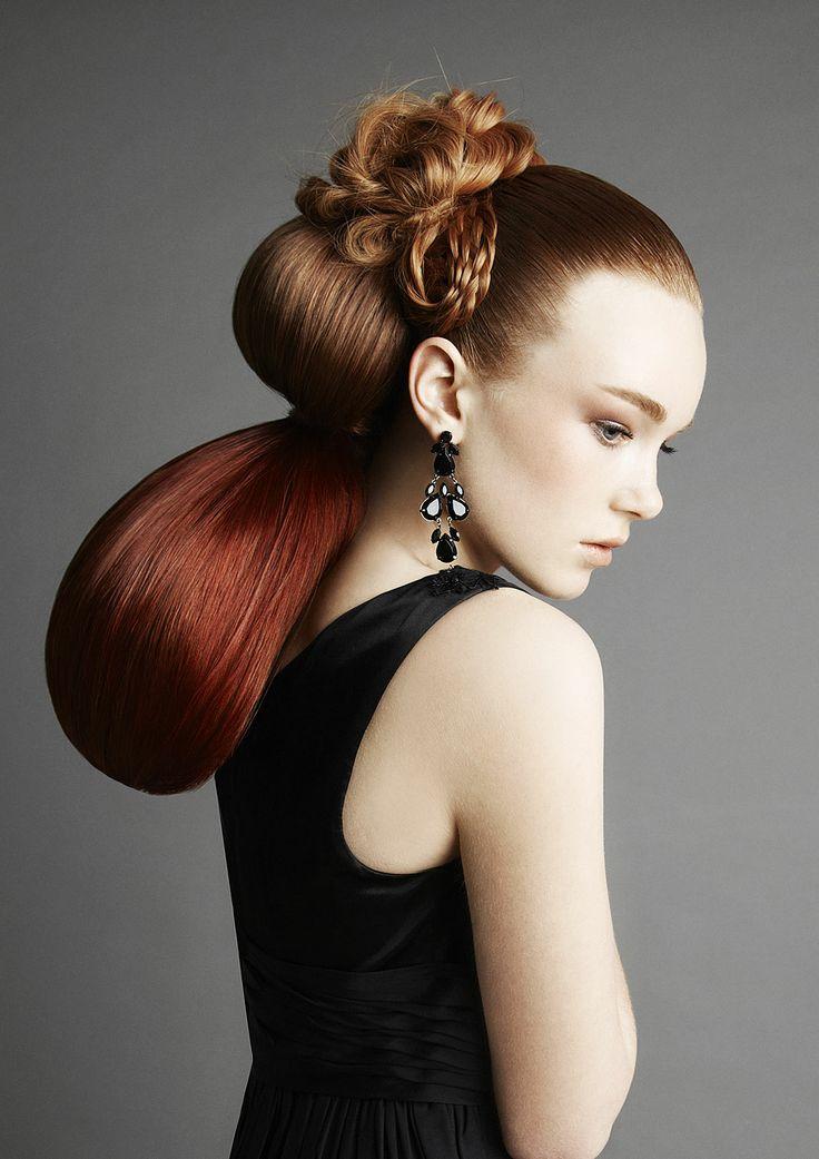 Classique Collection Hair Lorna Evans  Colour Madeleine Longmuir Make-up Victoria Hull Styling Sarah Banger and Joolz Photo Nadia Sliwka #WeddingHair
