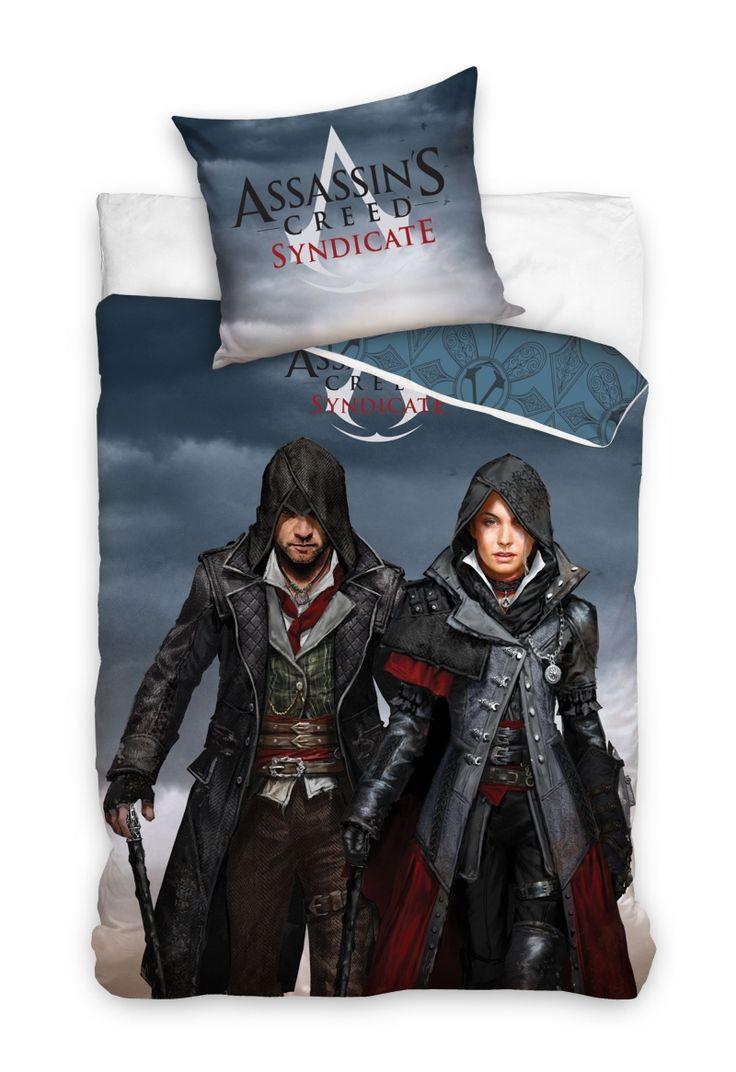 Assassin's Creed posteľné bavlnené posteľné obliečky