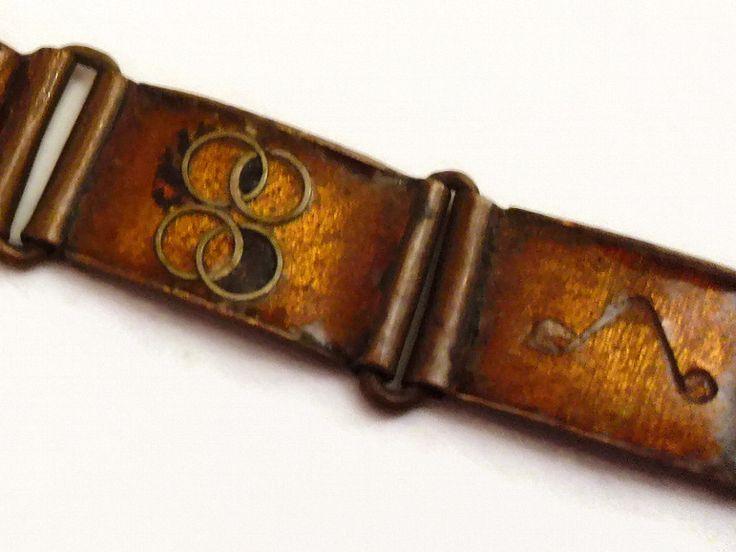 BAUHAUS+20er+Jahre+Armband+Vintage+Art+Deco+Unikat+von+Mont+Klamott+-+seltene+Vintage+Einzelstücke:+Liebzuhabendes,+Verspieltes,+Tickendes,+Klunkerndes,+Zauberhaftes,+Antikes,+Kurioses,+Schmuck+&+Uhren++auf+DaWanda.com