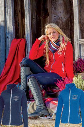 Jackets 47268: Mountain Horse Riding Jacket Bianca Fleece Dark Navy Size Ladies Medium -> BUY IT NOW ONLY: $44 on eBay!
