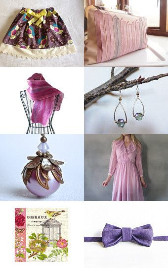 Spring Tea Party by Jelaine Blythman on Etsy