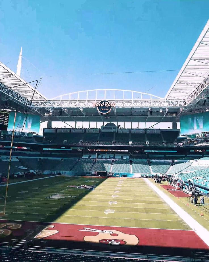 "NFL on Instagram ""Looking good, Miami. 🔥 📺 SBLIV 6"