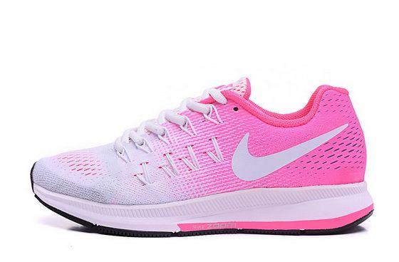 newest 04645 7b7b9 Nike Air Zoom Pegasus 33 Pure Platinum Pink Fire White