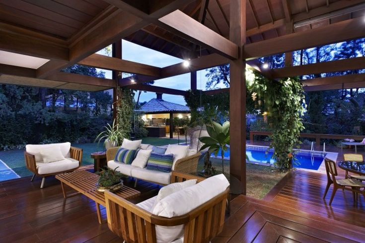Garden House by David Guerra Architecture and Interior | HomeDSGN, a daily source for inspiration and fresh ideas on interior design and home decoration.