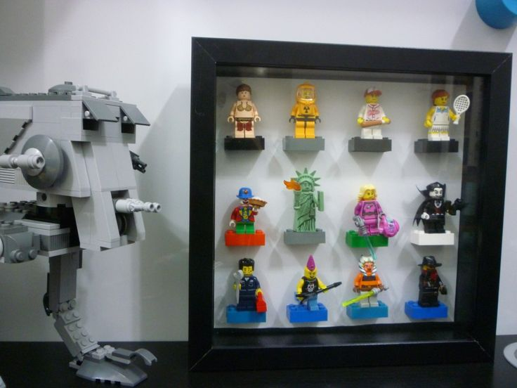 Another #LEGO #Minifigure display using the Ikea RIBBA frame.