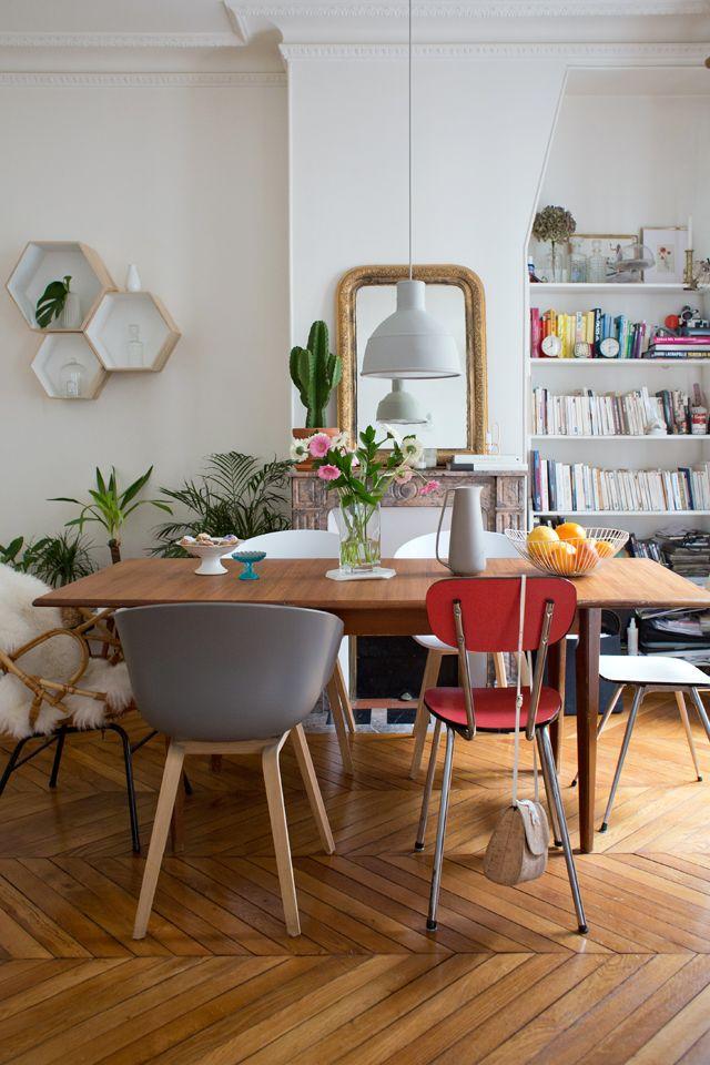 Mixe and match de chaises vintage chez Fanny Paris 2 - Inside Closet