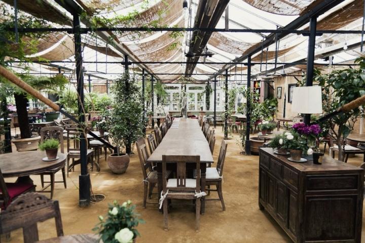 PETERSHAM NURSERIES CAFÉ | Greg Malouf | Church Lane & Petersham Road, Richmond
