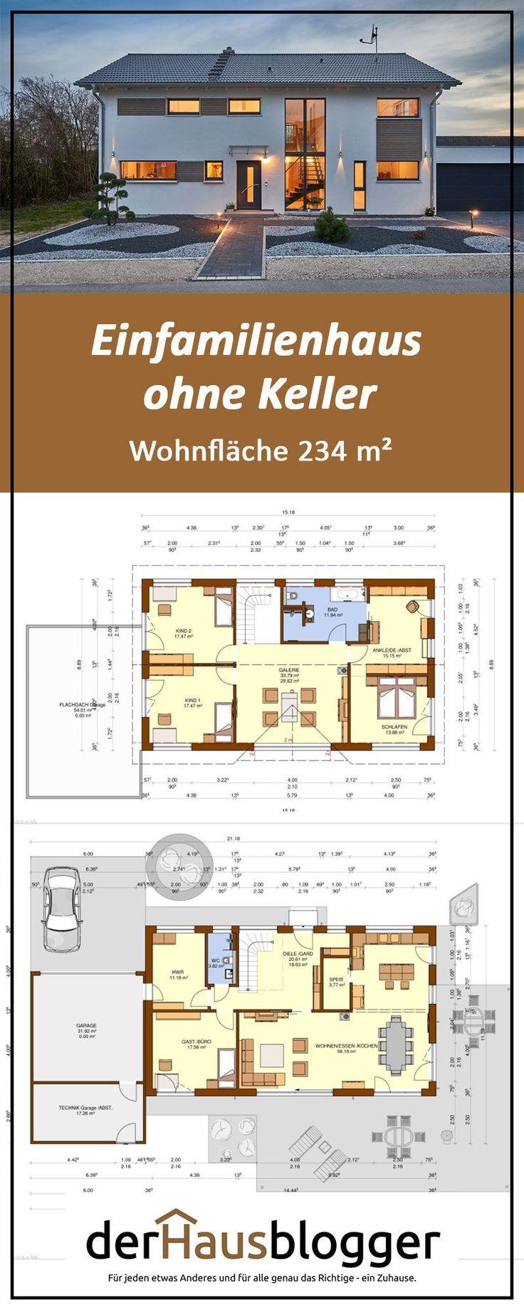 Einfamilienhaus ohne Keller, Wohnfläche 234 m² – Clarissa