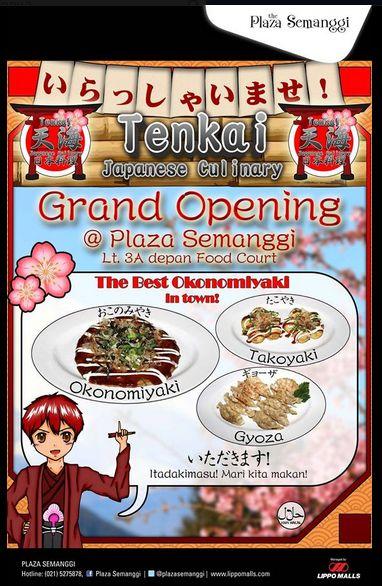 Grand Opening TENKAI Japanese Culinary di Plaza Semanggi