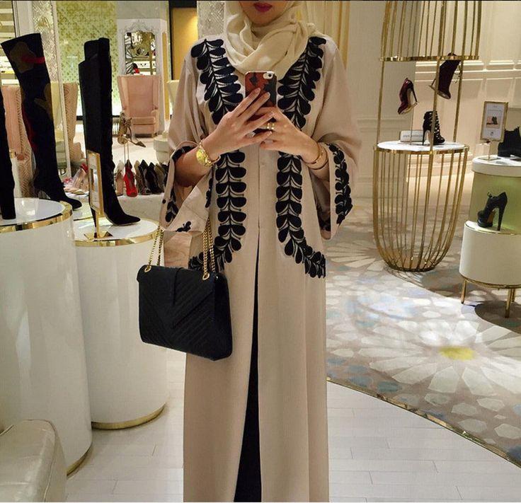 2016 new Adult Casual Robe Musulmane Turkish Printed Abaya Muslim Dress Cardigan Robes Arab Worship Service