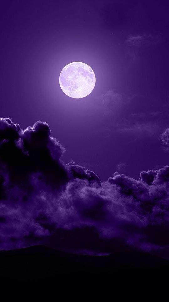 Full moon in a beautiful sky.