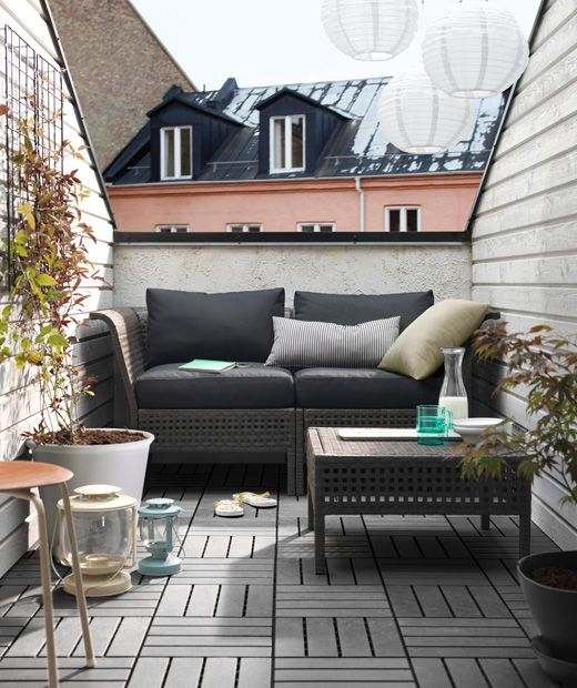 25 beste idee n over klein balkon tuin op pinterest. Black Bedroom Furniture Sets. Home Design Ideas