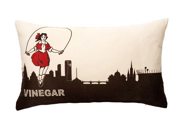 Make Me Iconic - Designer home wares and premium souvenirs - iconic cushion - neon