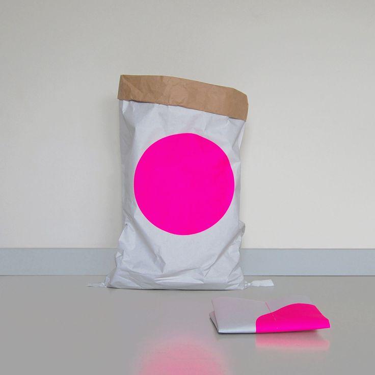 Opbergzak Dot Pink | Smoothing family life