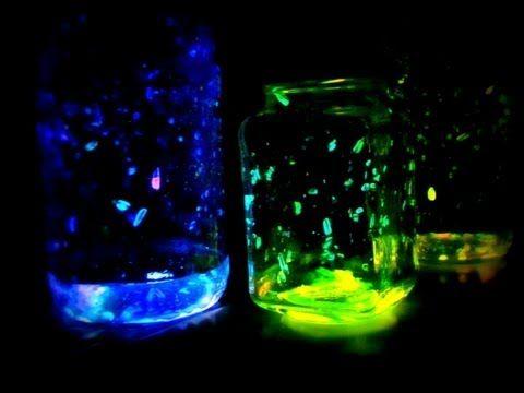 DIY Fireworks, fairy glow jars