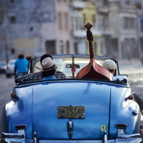 #blue #car #vintage