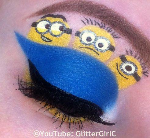 As Maquiagens Mais Criativas Inspiradas Nos Nossos Desenhos Favoritos http://wnli.st/201GjcF #Minions