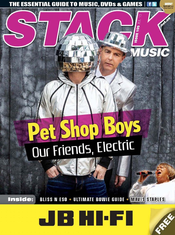 STACK issue 105 - July 105  Pet Shop Boys