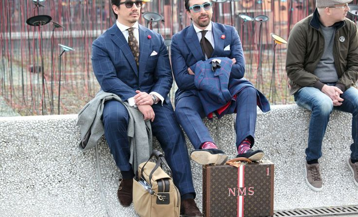 Classic Blue Suits