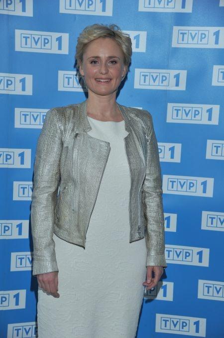 Kinga Preis - serialowa Natalia (fot. J. Bogacz/TVP)