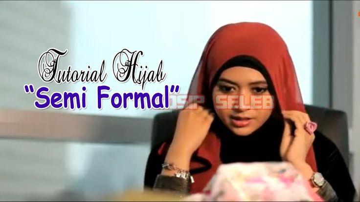 Tutorial Hijab Semi Formal 2016