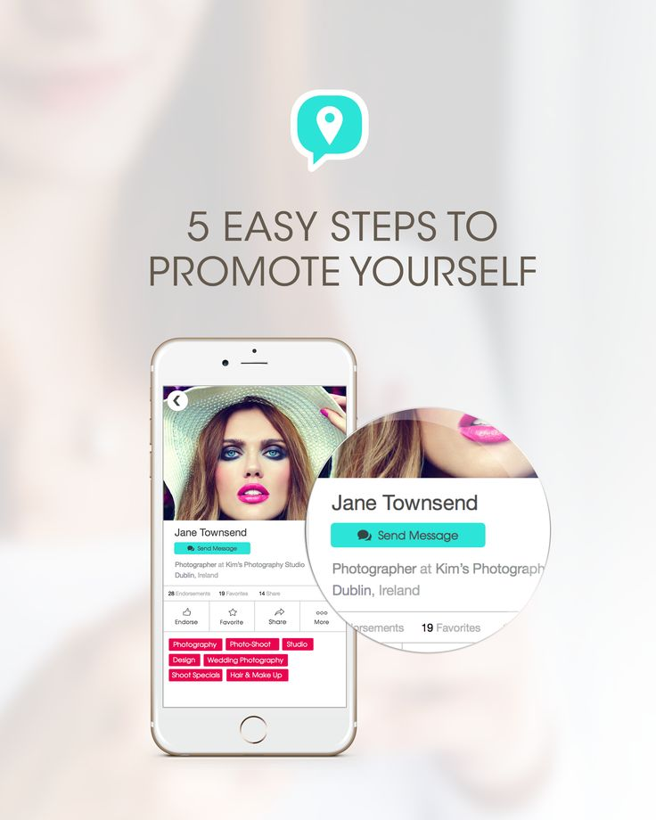 Here are five amazing easy to follow steps on how to professionally promote yourself on Chat Find. http://chatfind.com/5-easy-steps/  While your at it, what do you think of our new snazzy website?  #chatfind #networking #businesstips #professionaltips #entrepreneur #professional #jobs