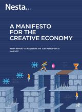 A Manifesto for the Creative Economy | Nesta