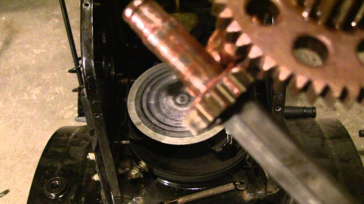 How to Repair Stuck MTD snowblower drive system