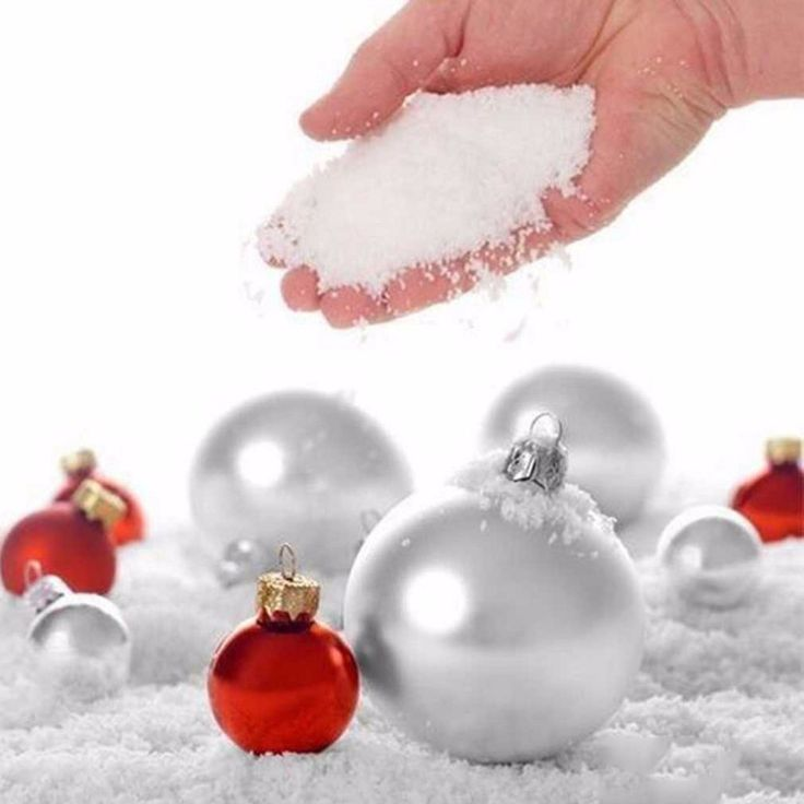 Fashion 10 Pcs Fake Magic Instant Artificial Snow S