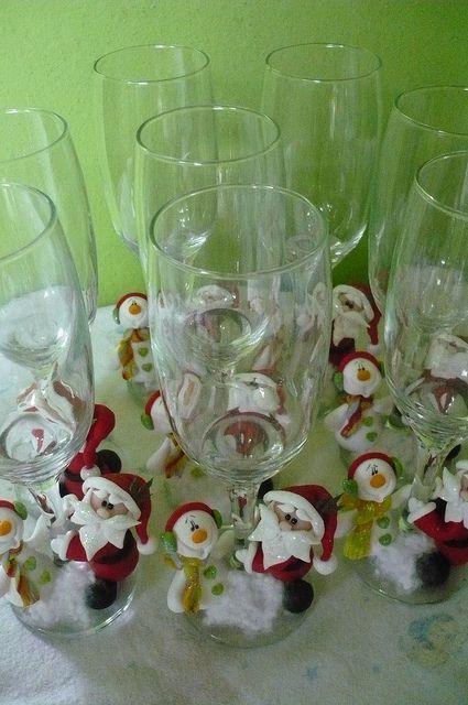 .hermosas copas decoradas