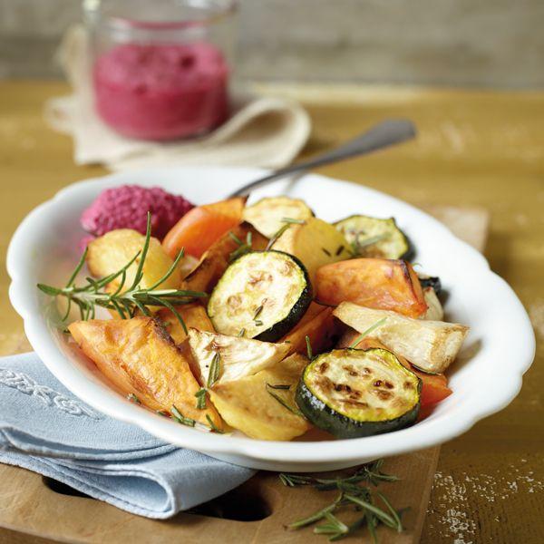 8 ProPoints // 10 SmartPoints            Zubereitungsdauer: 20 min  Garzeit: 35 min  Weitere Zeit: 0 min    Portionen: 2                                Zutaten         350 g Süßkartoffeln          200 g Kartoffeln, festkochend