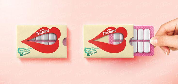 hani douaji trident gum packaging concept
