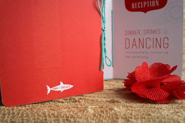 Destination Wedding Invitations : Chelsea + John on Behance