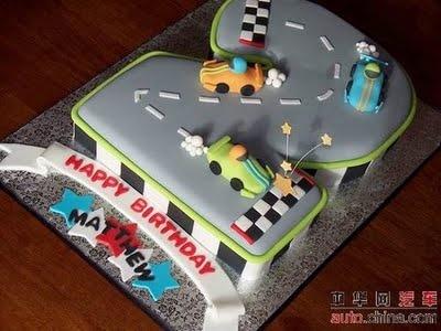 car cake-DJ bday?!