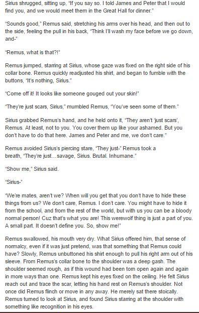 the marauders - remus and sirius part 2