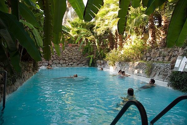 La Gruta hot springs, San Miguel de Allende, Mexico