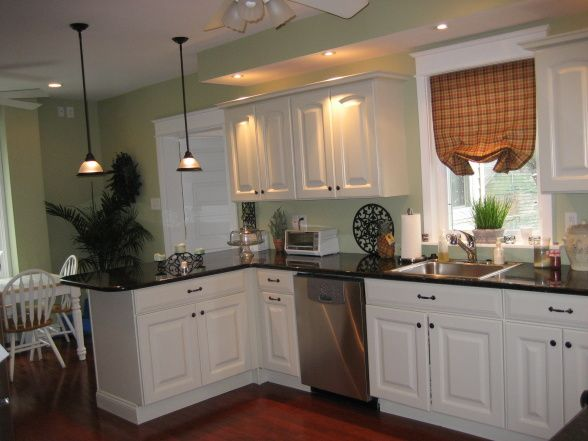 23 best black countertops images on pinterest kitchen With kitchen colors with white cabinets with lanterne japonaise papier