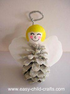 heavenly christmas angel craft