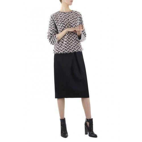 Jumper Kalou, Black/Blush - Pullover / Cardigans - Kleidung - Shop — lala Berlin
