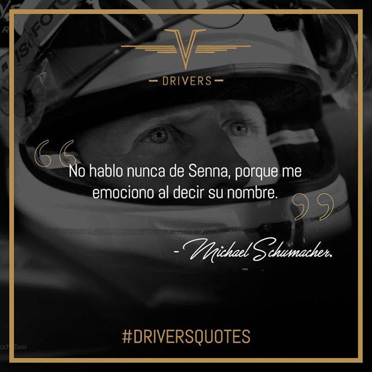 Siete campeonatos mundiales de Fórmula 1 le hacen a #MichaelSchumacher un lugar en nuestras #DriversQuotes.    #Drivers #DriversChile #Cars #Quotes #Fórmula1 #F1 #CarLovers #Miniaturas #AutosAEscala #Herramientas #Limpieza & #Detailing #Santiago #Chile